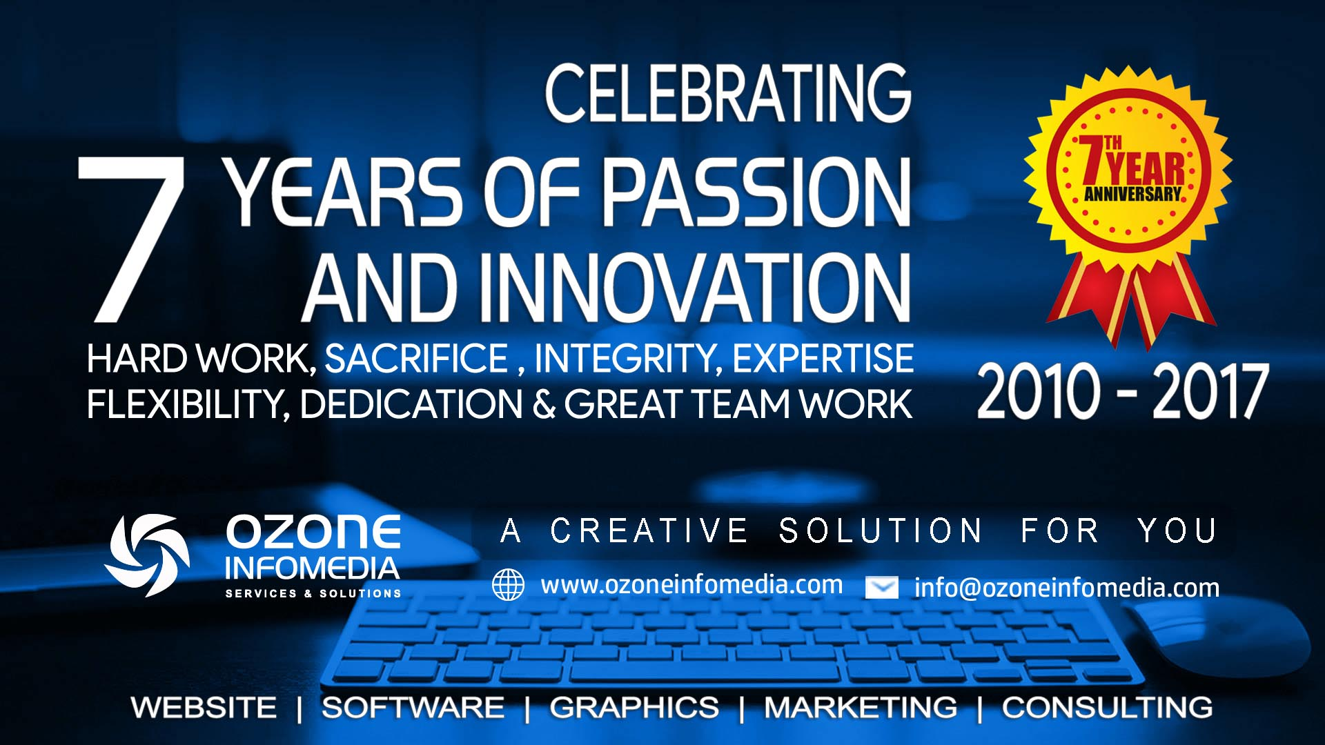 Ozone Infomedia Services & Solutions Celebrates 7th Anniversary | The Bihar News