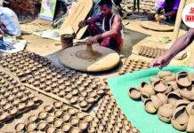 Kumhaars making Eco friendly Diya | The Bihar News