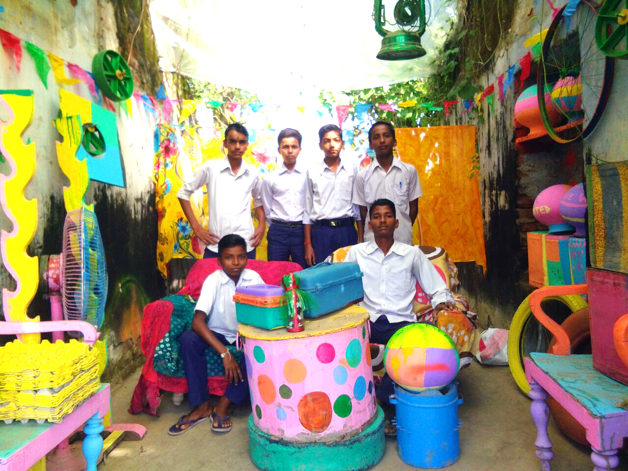 Kid reporters from Scrappy News Room Bhagalpur | The Bihar News