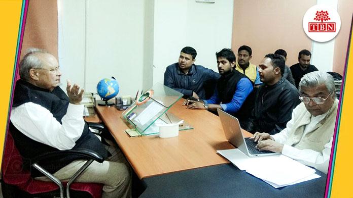 TBN-memorandum-handed-over-to-vice-chancellor-of-magadha-university-the-bihar-news